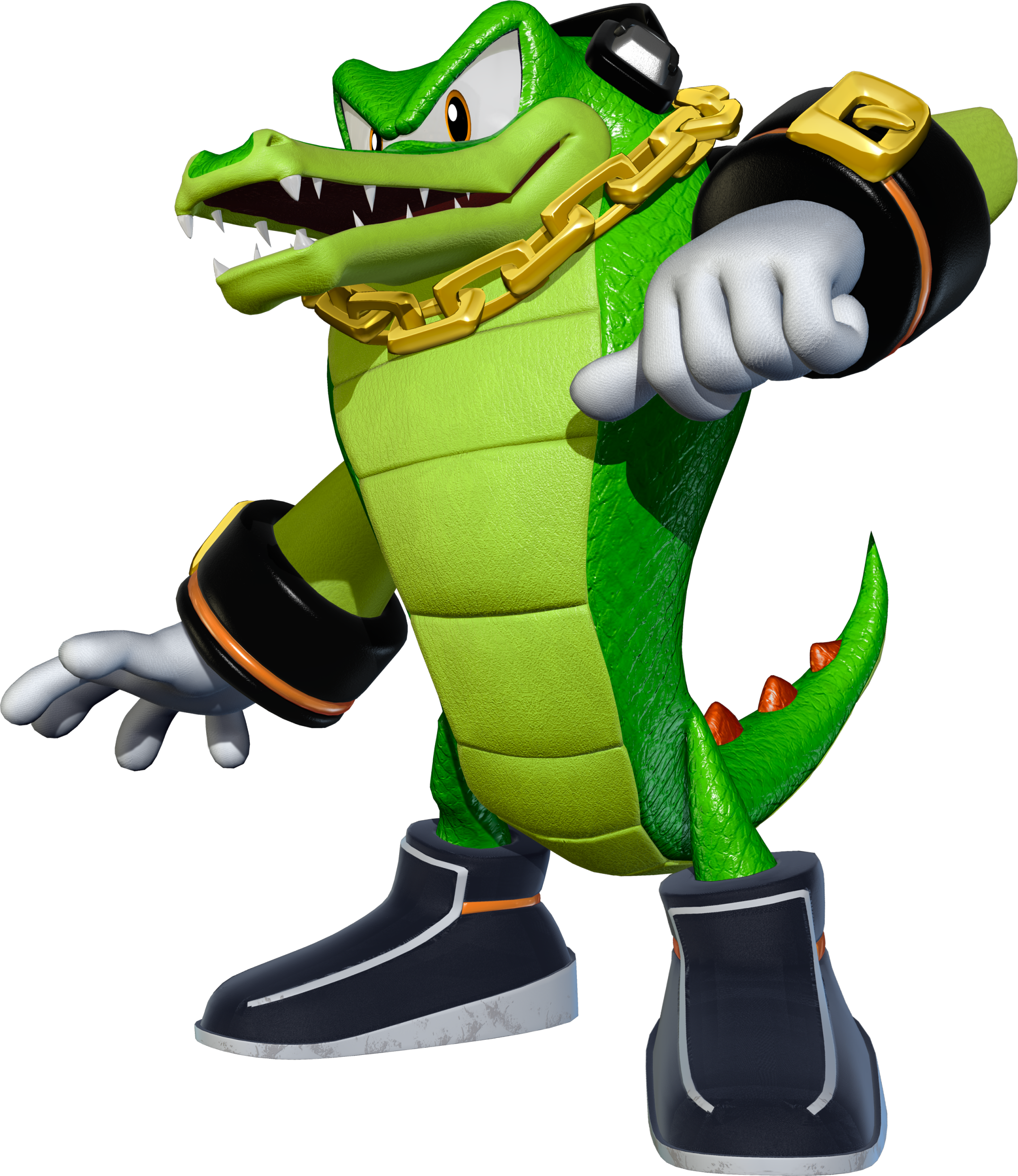 2153x2486 Vector The Crocodile From The Sonic Universe