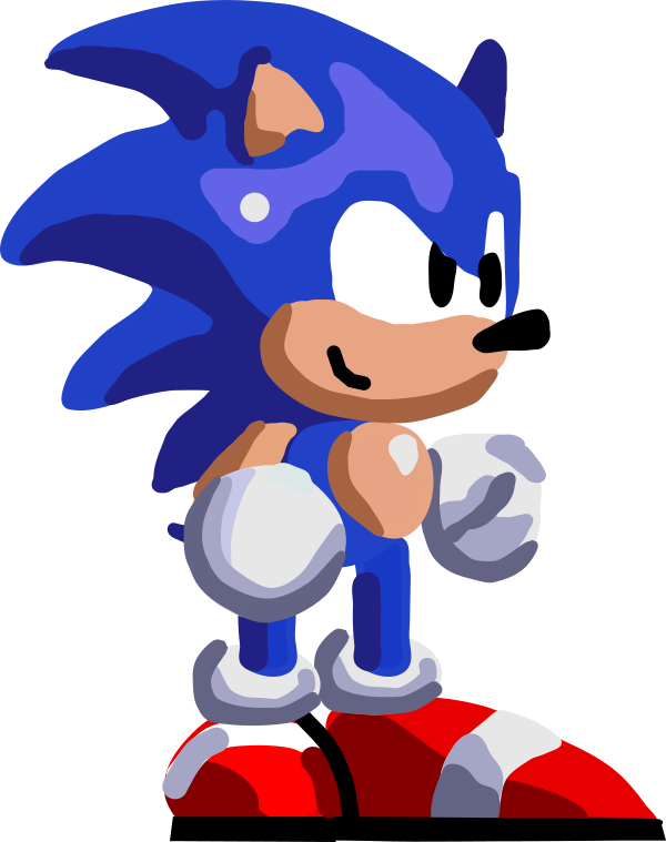 600x759 Sonic Vector Art Sonic By Sonicjeremy