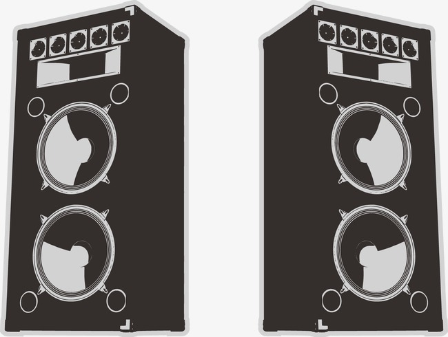 650x490 Black Sound Vector, Black Vector, Stereo, Symmetric Sound Png And