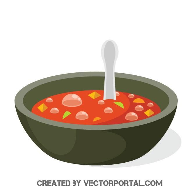 660x660 Red Soup Vector Graphics Food And Drink Vectors