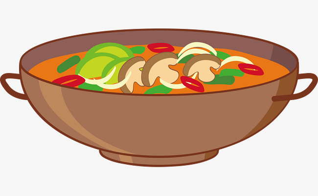 650x400 Vector Bowl Of Hot Soup, Vector, Bowl, Soup Png And Vector For