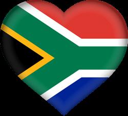 250x227 South Africa Flag Vector