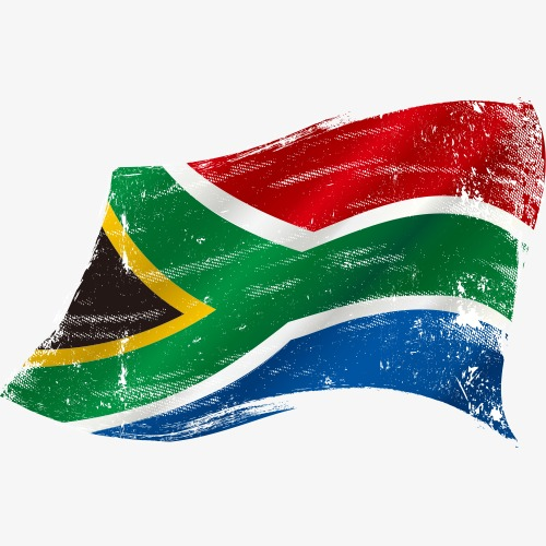500x500 South African Flag, South Africa, Flag, Foreign Flag Png And