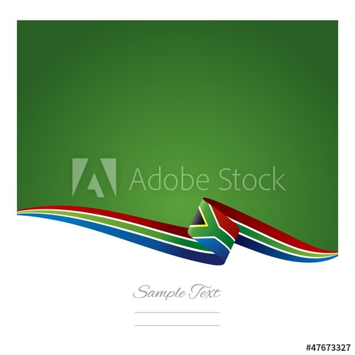 500x500 Abstract Color Background South African Flag Vector