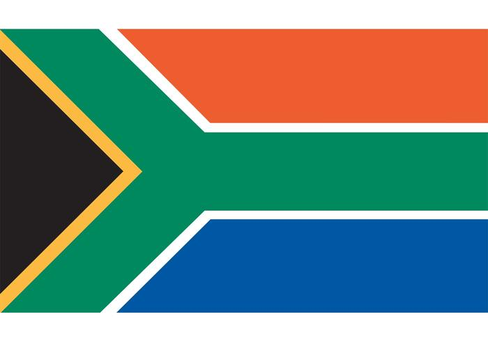 700x490 South African Flag Vector