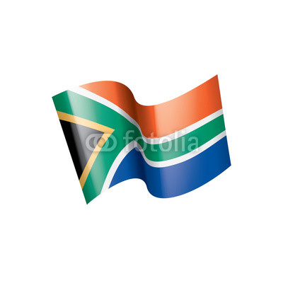 400x400 South Africa Flag, Vector Illustration On A White Background Buy