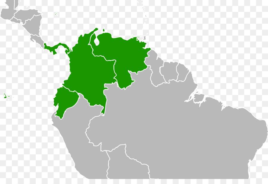 900x620 South America Latin America United States Blank Map