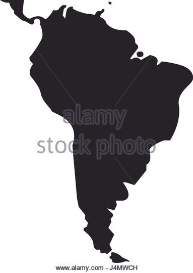 383x540 South America Map Vector Latin America Map Vector Stock Photos