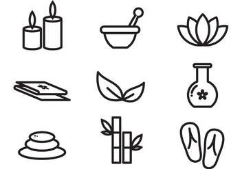 352x247 Free Spa Icons Vector Free Vector Download 381755 Cannypic