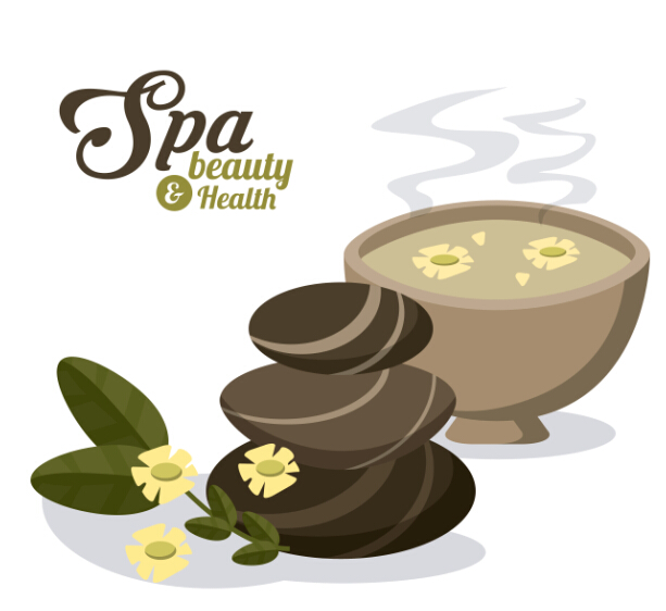 613x562 Spa Beauty Health Vector Background 06 Free Download