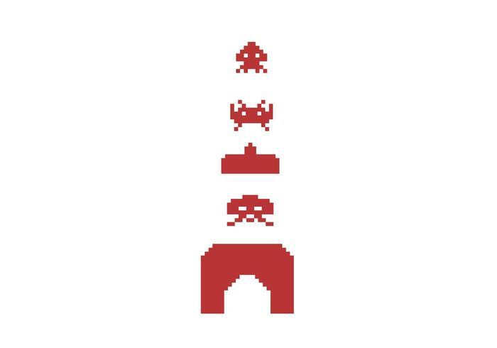 700x490 Space Invaders Vector Symbols Free Vector Art