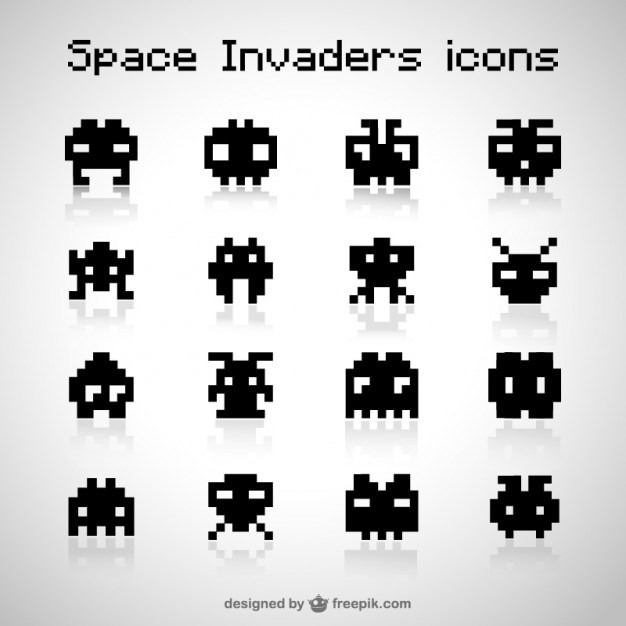 626x626 Space Invaders Vectors, Photos And Psd Files Free Download