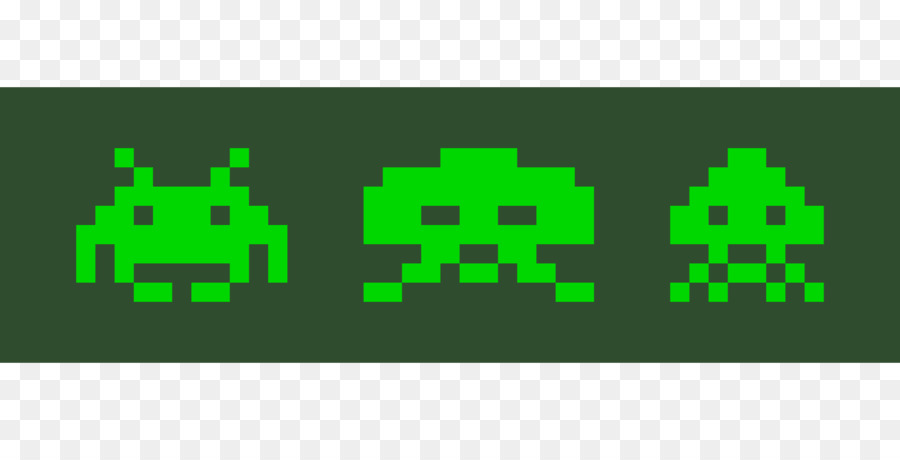 900x460 Space Invaders Clipart Arcade