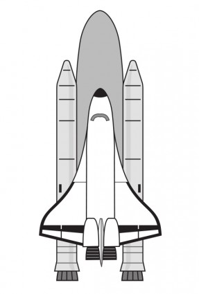 287x425 Nasa Space Shuttle Vector Free Vector Download In .ai, .eps