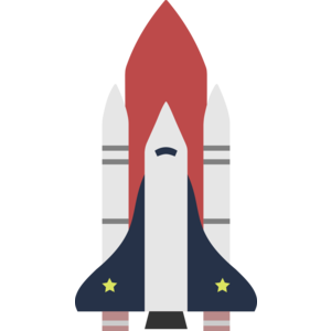 300x300 Space Shuttle Vector Png Clipart