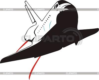 400x321 Space Shuttle Stock Vector Graphics Cliparto