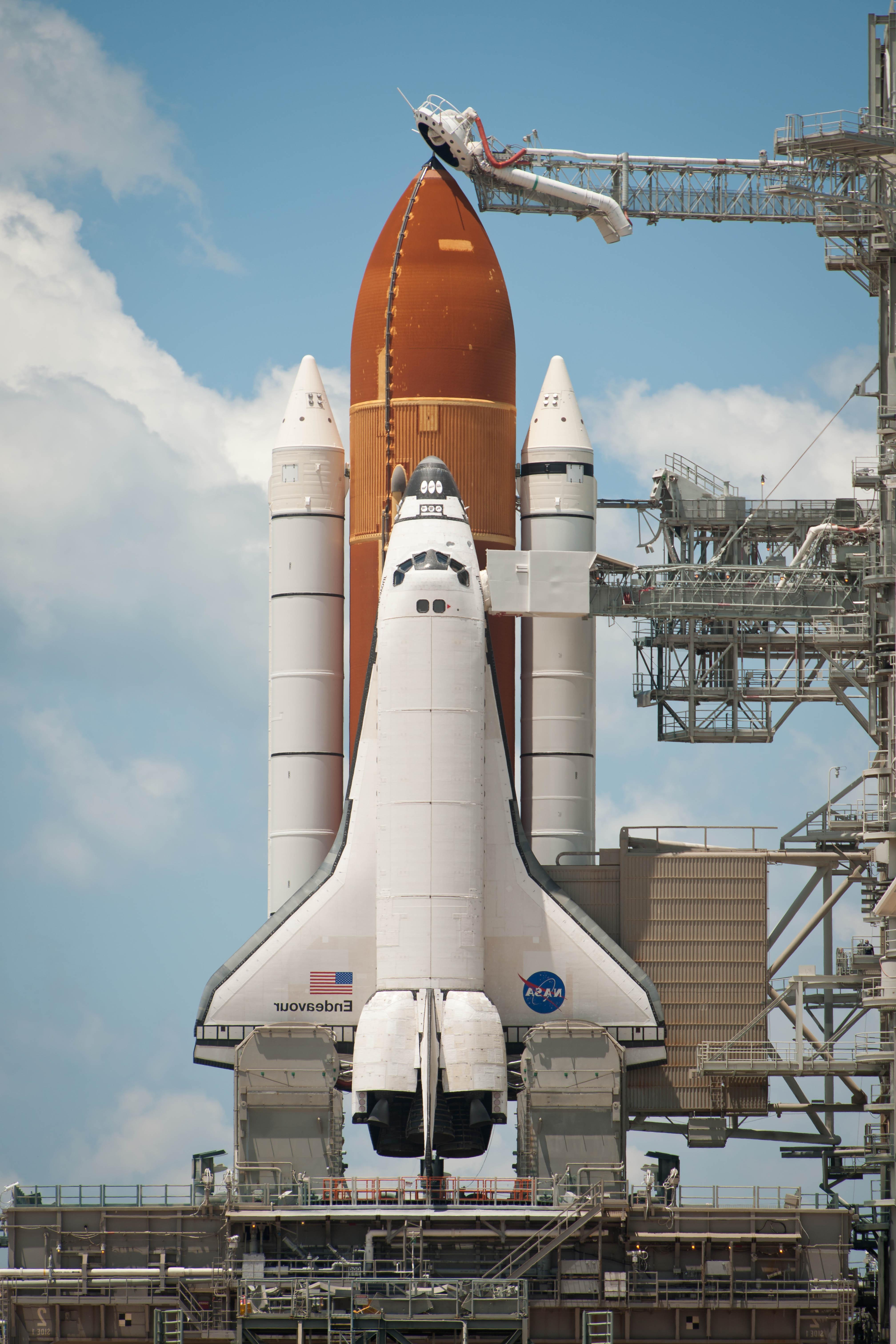 4032x6048 Top 1st Enterprise Space Shuttle Launch Vector Pictures