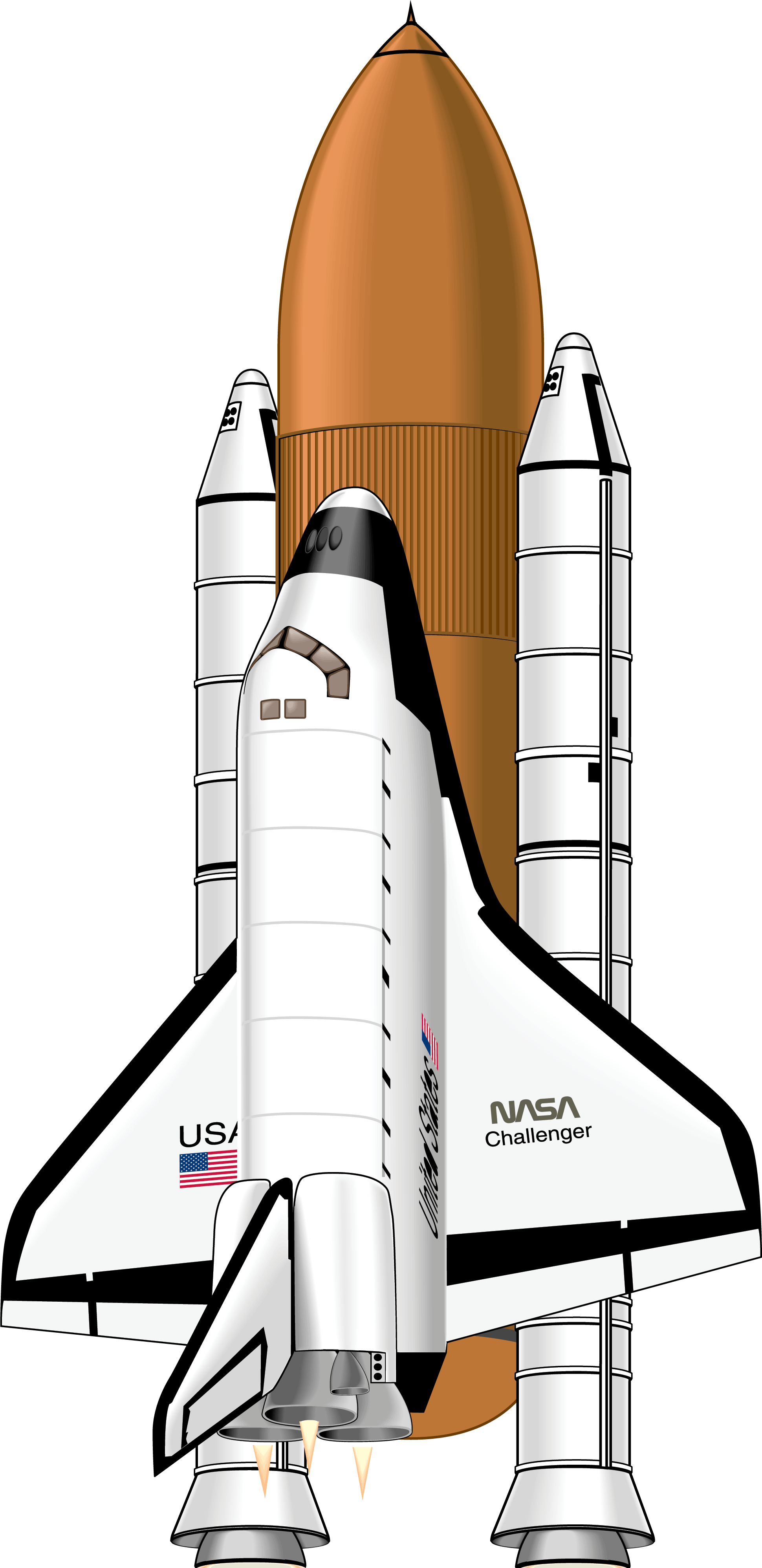 1940x3992 Collection Of Free Shuttle Vector. Download On Ubisafe