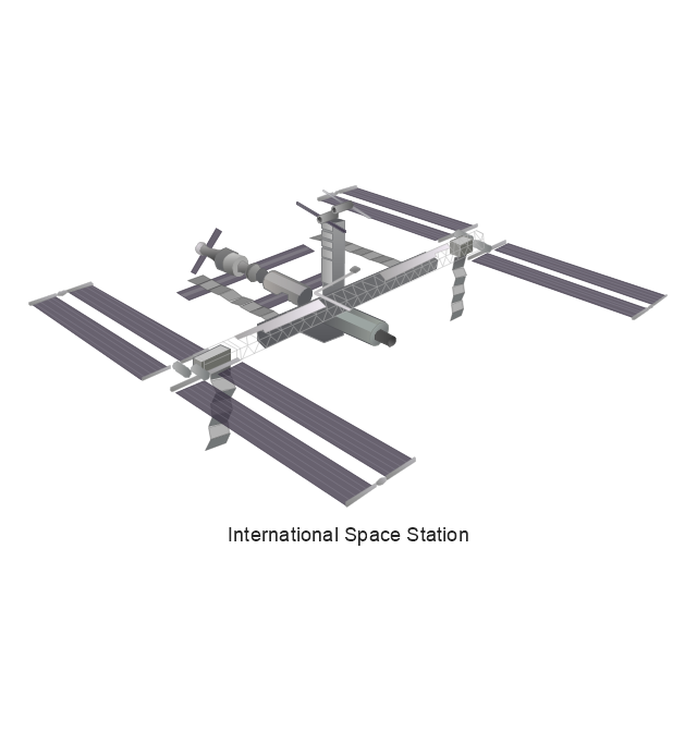 640x672 International Space Station Clipart Aerospace
