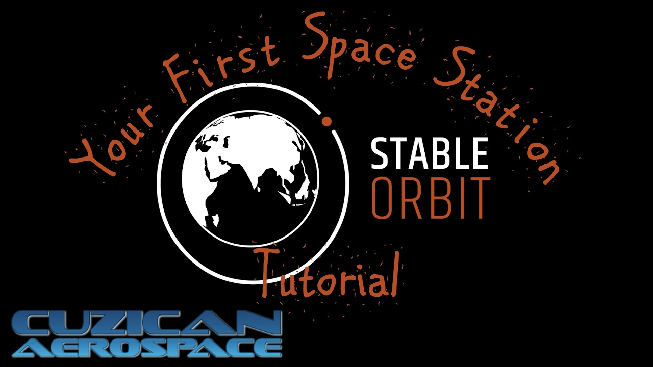 1280x720 Your First Space Station! Stable Orbit Vector Tutorial