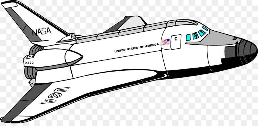 900x440 Space Station Vector Clip Art