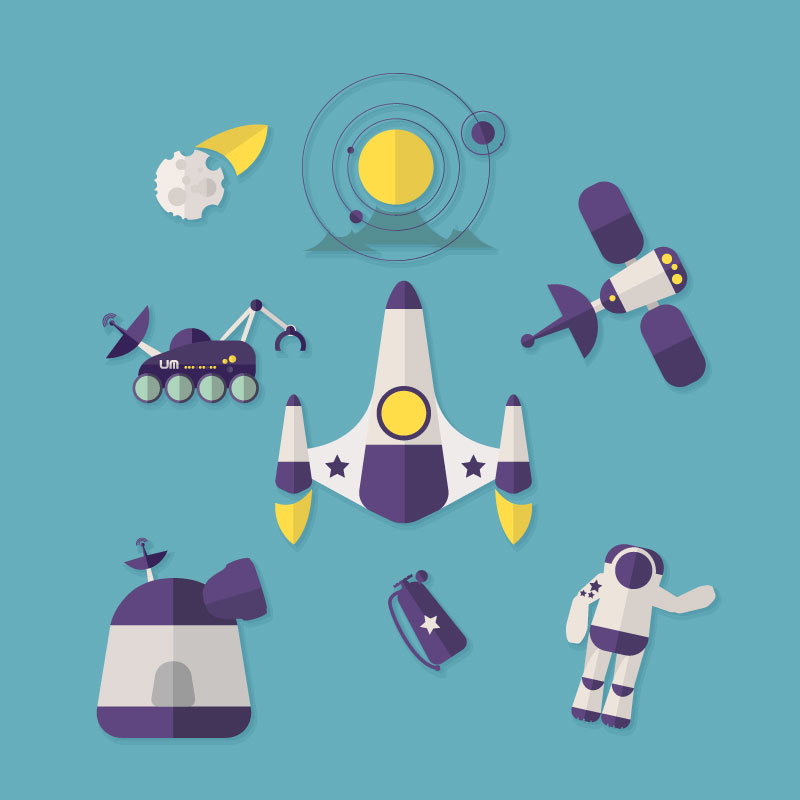 800x800 Eight Vector Icon Design Space Exploration Eight,vector,icon,space