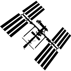 300x300 Iss Silhouette Clipart, Cliparts Of Iss Silhouette Free Download