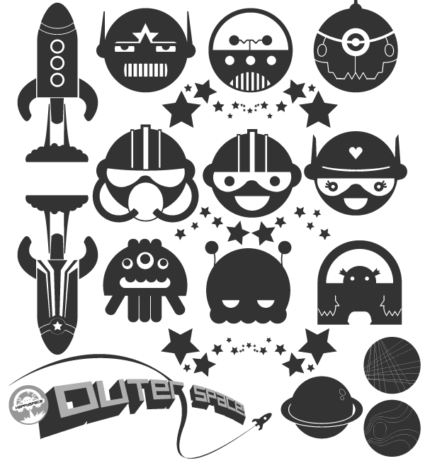 600x650 Free Free Space Vector Pack Psd Files, Vectors Amp Graphics