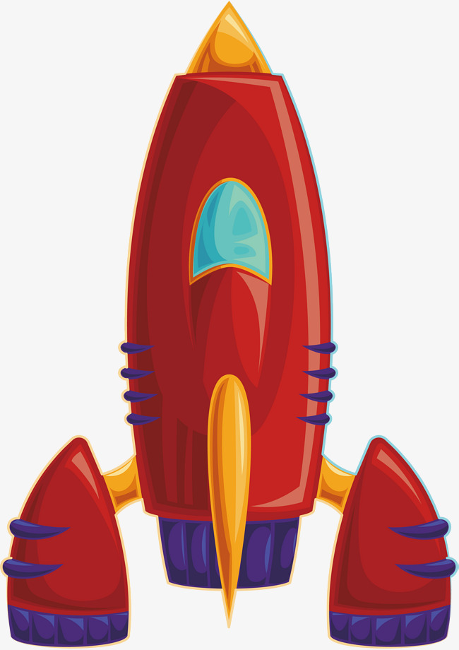 650x920 Red Alien Spaceship, Alien Vector, Vector Png, Airship Png And