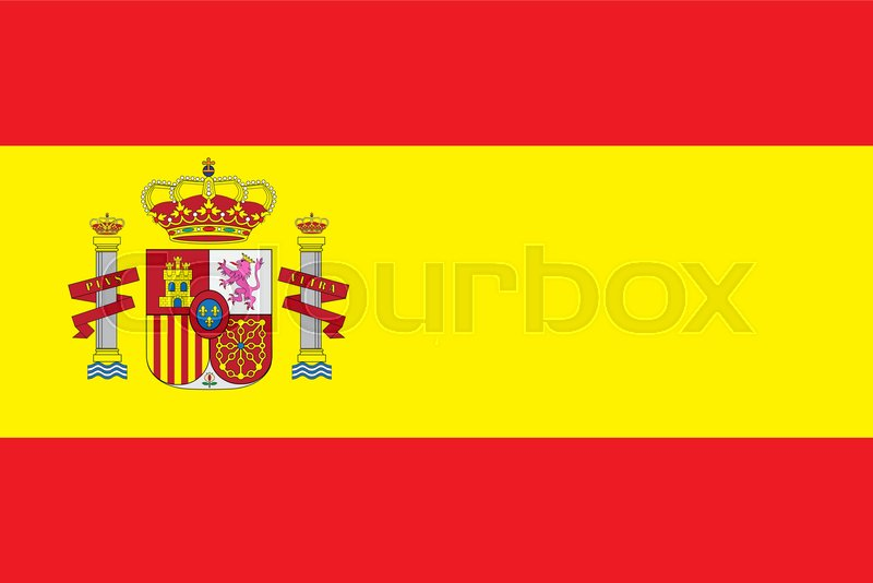 800x534 Spain Flag Vector Illustration. Spain Flag. National Flag Of Spain