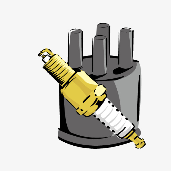 567x567 Mechanical Spark Plug, Mechanical Vector, Spark Vector, Vector Png