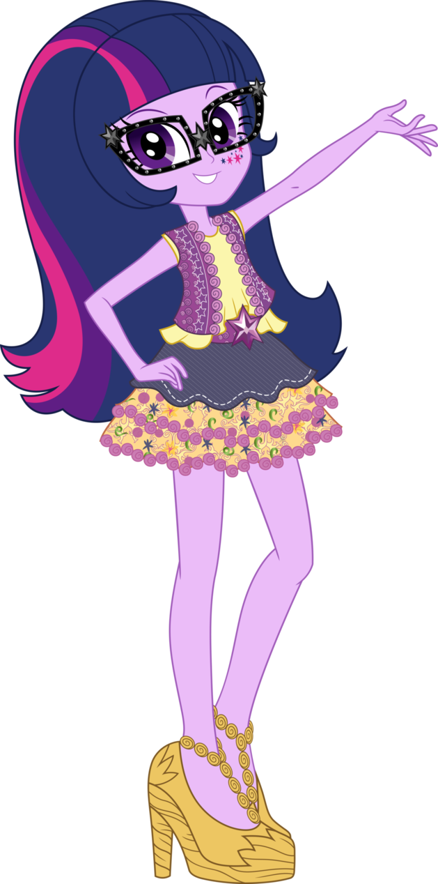629x1268 Legend Of Everfree Boho Twilight Sparkle Vector By Icantunloveyou