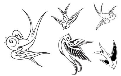 411x260 Sparrow Vector Amp Graphics To Download