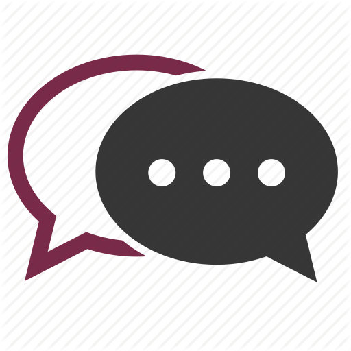 512x512 Chat, Dialog, Forum, Speaking Icon