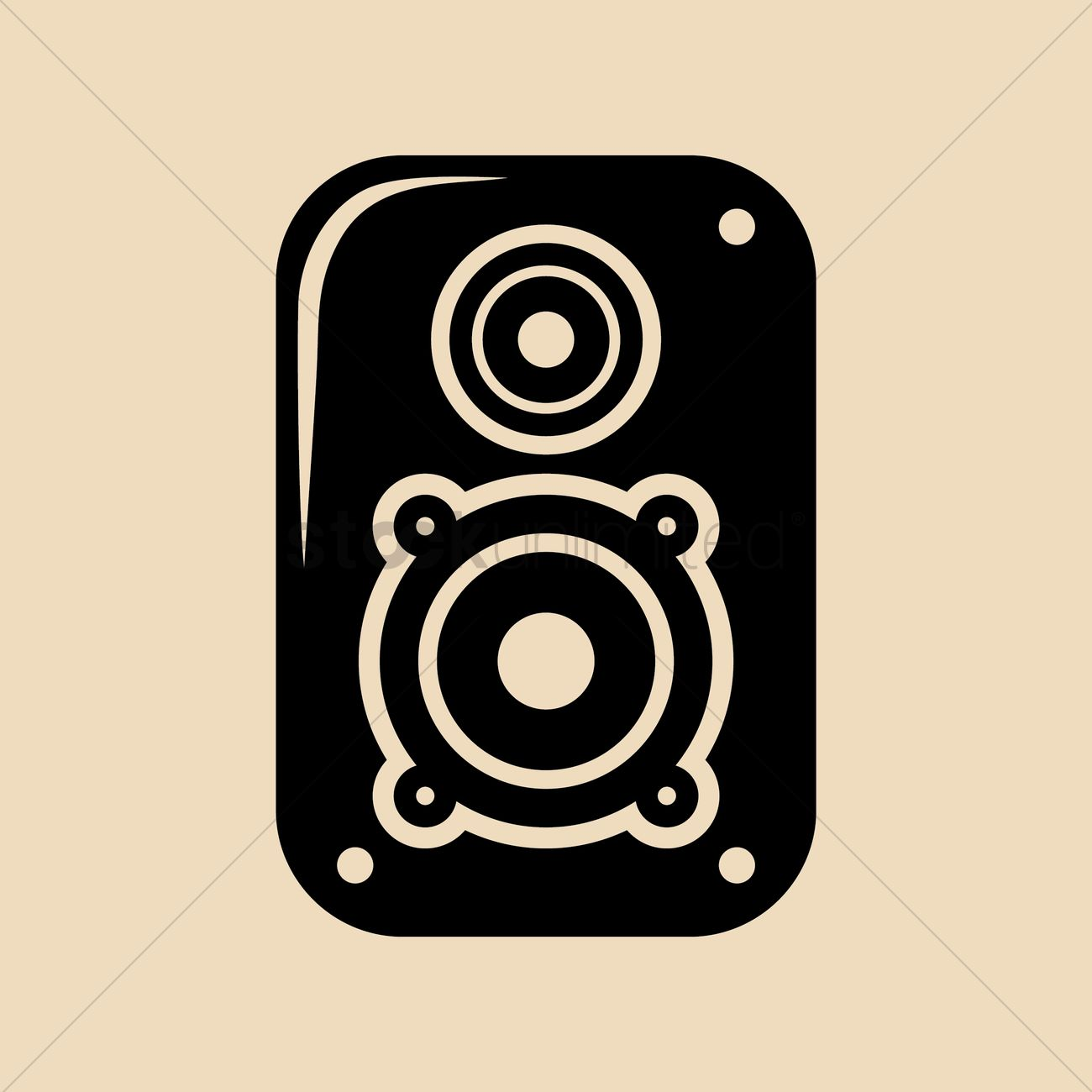 Speaker Box Vector at GetDrawings com | Free for personal use