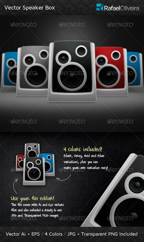 590x990 Vector Speaker Box Speakers, Box And Font Logo