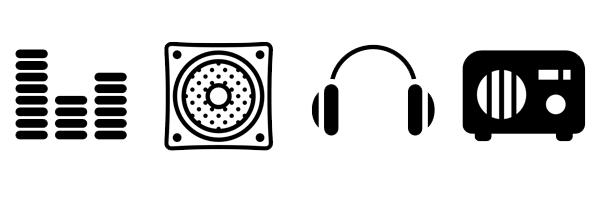 600x200 Speaker Icon