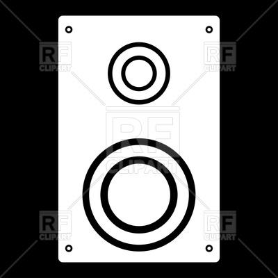 400x400 Loud Speaker Icon Vector Image Vector Artwork Of Signs, Symbols