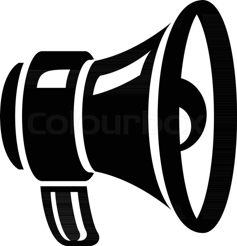 769x800 Loud Speaker Icon. Simple Illustration Of Loud Speaker Vector Icon