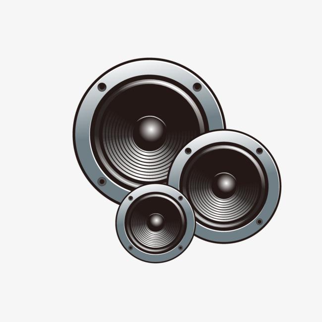 650x651 Black Music Speaker Combination, Black Vector, Music Vector