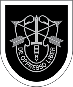 254x300 5th Special Forces Group Logo Vector (.eps) Free Download