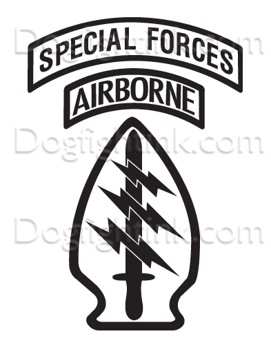 393x504 Special Forces Logo Vector