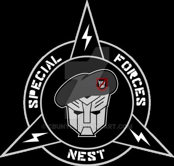 600x572 Transformers Nest Special Forces Custom Logo By Cbunye