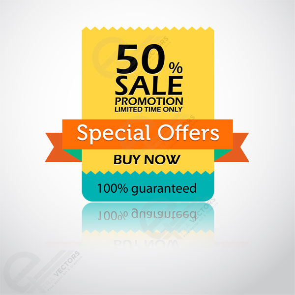 600x600 Special Offer Sticker Andtag Vector Free Download Extravectors
