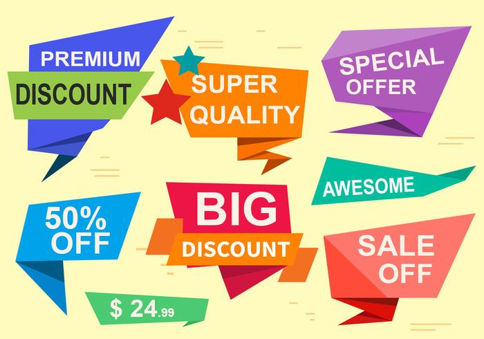 700x490 Special Offer Vector Labels