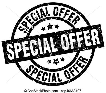 450x398 Special Offer Round Grunge Black Stamp.