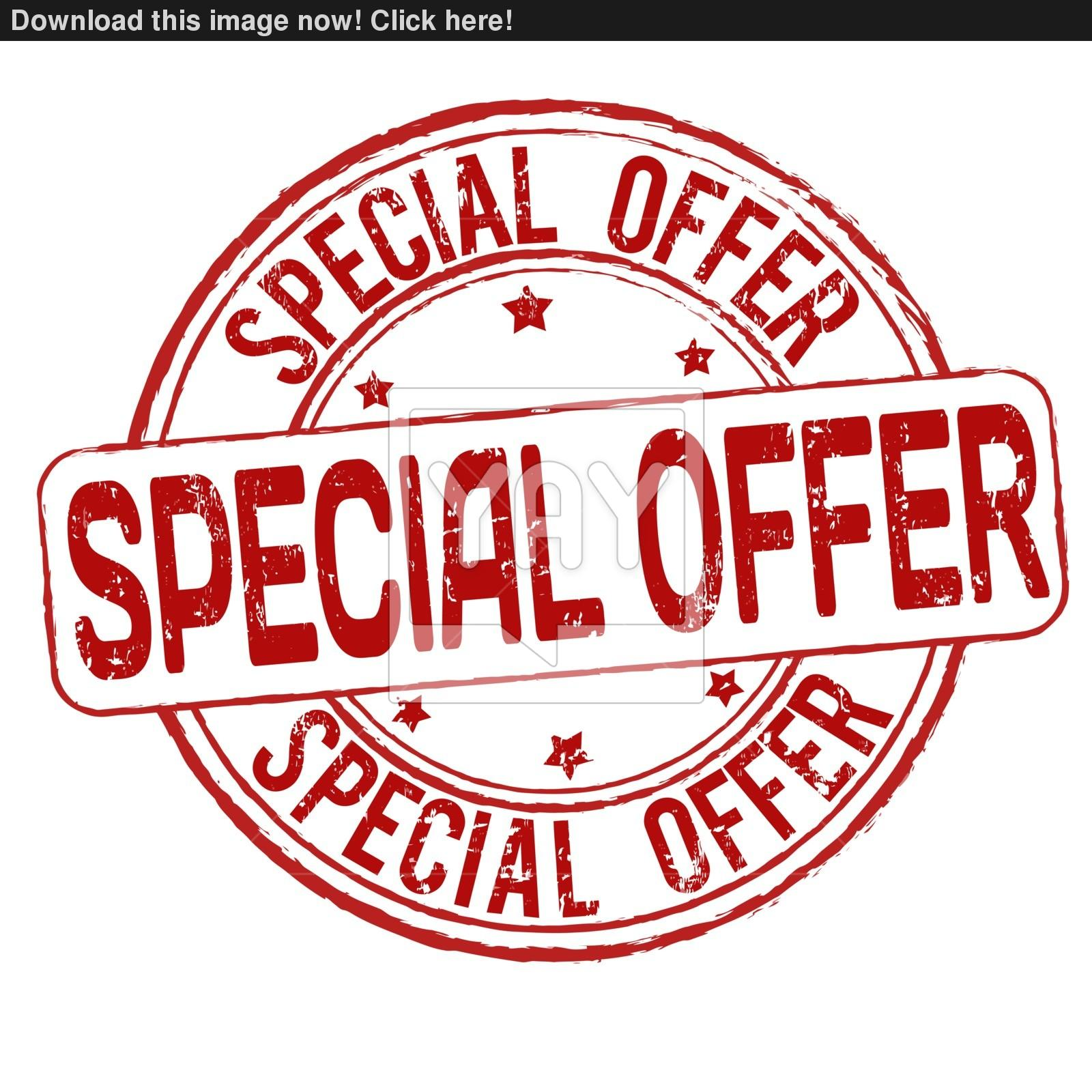 1600x1600 Special Offer Stamp Vector