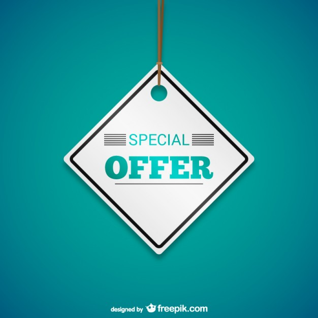 626x626 Special Offer Tag Vector Free Download
