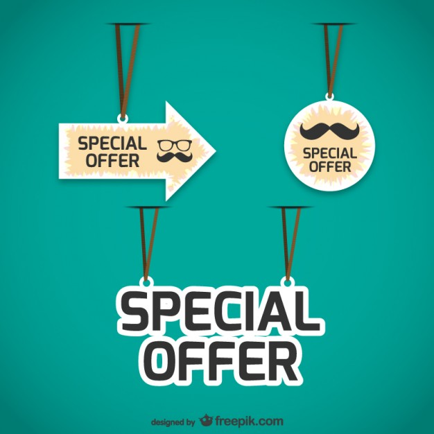626x626 Special Offers Tags Pack Free Vectors Ui Download