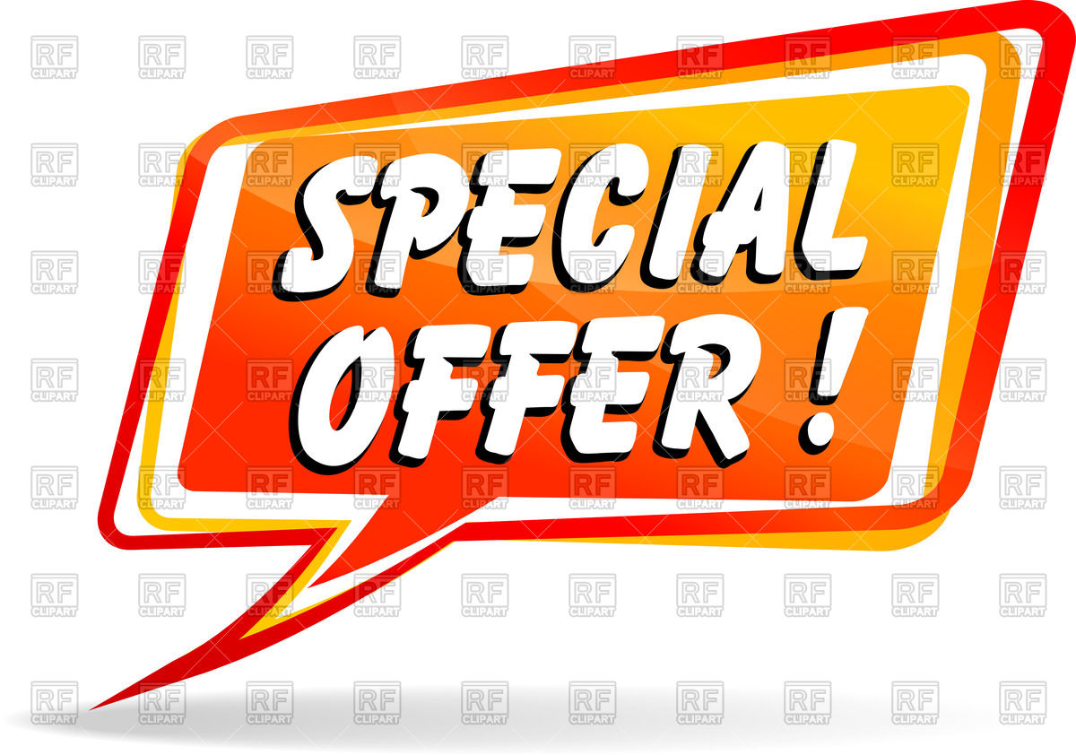 1200x842 Speech Bubble With Inscription Special Offer Vector Image Vector